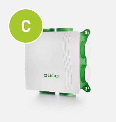 DucoBox Silent centrale afvoerventilator welke onder andere toegepast kan worden bij het Duco CO2 System en Duco Comfort System.