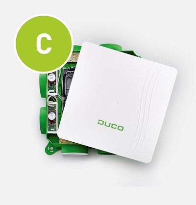 De DucoBox Focus is een mechanische afvoerventilator welke zonale afvoer mogelijk maakt. De DucoBox Focus kan worden toegepast in het Duco Comfort Plus System, Duco Tronic System en Duco Tronic Plus System